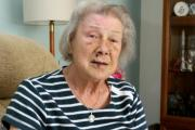 Pensioner thanks Good Samaritan for helping her after fall